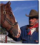 The Marlboro Man In Ocala Florida Canvas Print