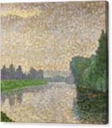 The Marne At Dawn Canvas Print