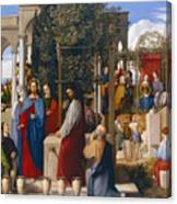 The Marriage At Cana Canvas Print