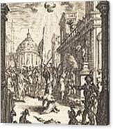 The Martyrdom Of Saint James Major Canvas Print
