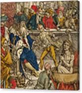 The Martyrdom Of St John Canvas Print