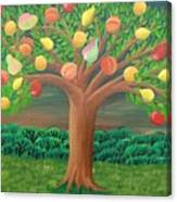 The Marzipan Tree Canvas Print