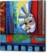 The Mascherade Canvas Print