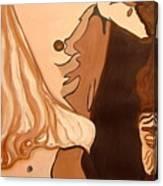 The Mask Man Canvas Print