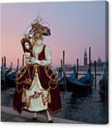 The Masks Of Venice Carnival Canvas Print