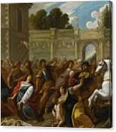 The Massacre Of The Innocents Canvas Print