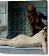 The Massage Canvas Print