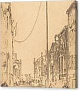 The Mast Canvas Print