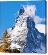 The Matterhorn Mountain Canvas Print