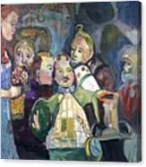The Mayor Wizard Of Oz Canvas Print