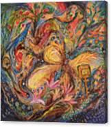 The Mediterranean Blues Canvas Print