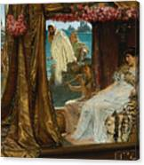 The Meeting Of Antony And Cleopatra By Lawrence Alma-tadema Canvas Print