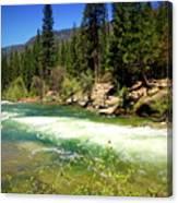 The Merced River In Yosemite Canvas Print
