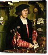 The Merchant Georg Gisze 1532 Canvas Print