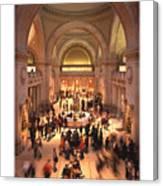 The Metropolitan Museum Of Art Canvas Print