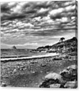 The Mewstone, Wembury Bay, Devon #view Canvas Print