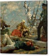 The Midday Rest Sailors Yarning Canvas Print