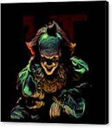the Mighty Clown Canvas Print
