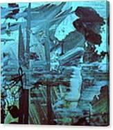 The Mighty Flood Canvas Print