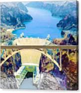 The Mike O'callaghan Pat Tillman Memorial Bridge Canvas Print