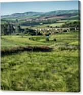 The Milwaukee Road Railroad Viaduct Near Rosalia Wa Dsc05095 Canvas Print