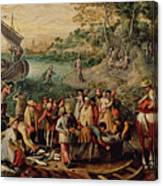 The Miraculous Draught Of Fishes Canvas Print