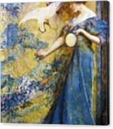 The Mirror 1910 Canvas Print