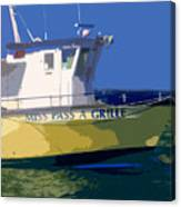 The Miss Pass A Grille Canvas Print