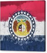 The Missouri Flag Canvas Print