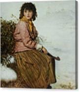 The Mistletoe Gatherer Canvas Print
