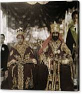 The Monarchs Haile Selassie The First Canvas Print