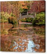 The Monet Bridge Canvas Print