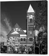 The Monongalia County Courthouse - Morgantown West Virginia Canvas Print