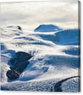 The Monte Rosa Glacier In Switzerland Canvas Print