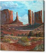 The Monuments Canvas Print