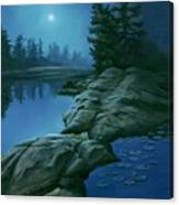 The Moonlight Hour Canvas Print