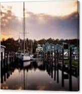 The Mooring Canvas Print