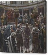 The Morning Judgement Canvas Print
