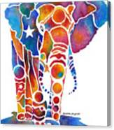 The Most Whimsical Elephant Canvas Print