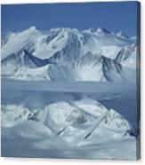 The Mount Vinson Massif 16, 059 Canvas Print