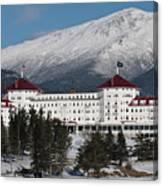 The Mount Washington Hotel Canvas Print