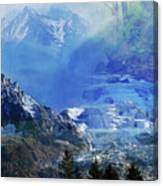 The Mountains Melting Snows Canvas Print