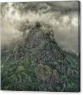 The Mountains Of Alaska  Canvas Print