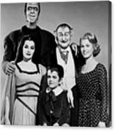 The Munster Family Portrait Canvas Print