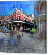 The Muriel's Of Jackson Square  Canvas Print