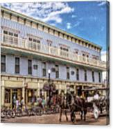 The Murray Hotel At Mackinac Island Canvas Print