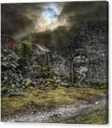 The Murrayfield Eclipse Canvas Print