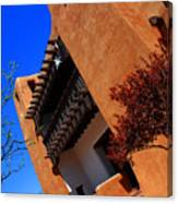 The Museum Of Art In Santa Fe Canvas Print