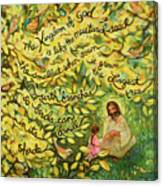 The Mustard Seed Canvas Print