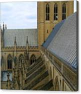 The National Cathedral Canvas Print